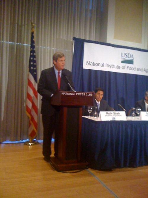 Agriculture Secretary Vilsack speaks at the National Press Club