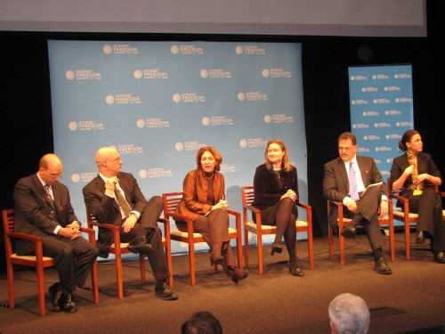 Internet Freedom Panel at the Newseum