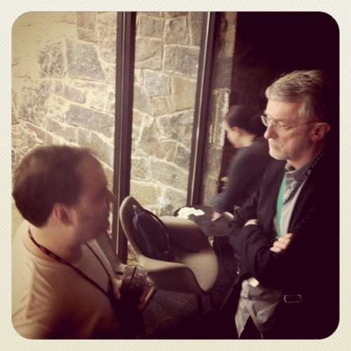 Andy Carvin talks with Jeff Jarvis