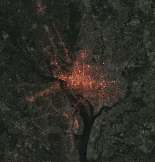 heatmap Uber DC