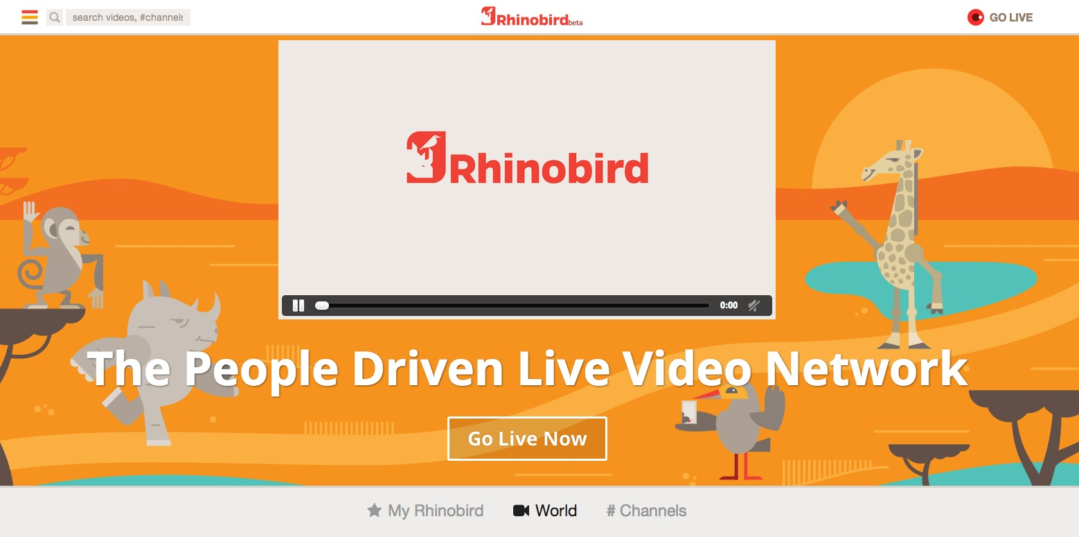 RhinoBird.tv launches collaborative livestreaming app for Android users and the Web