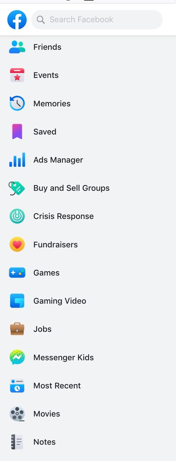 Facebook-side-menu